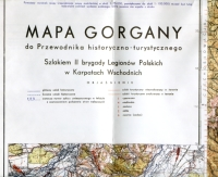 Gorgany i Czarnohora. Reprinty map WIG 1:100 000